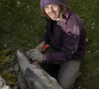 1er sculture sur granit