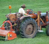 Nestor, le tracteur de la villatte
