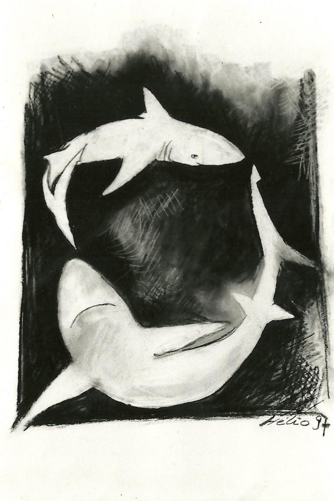 La danse des squales - Mathieu Antonio Hélio RAPP