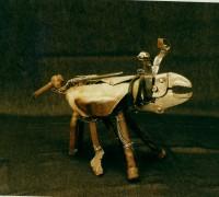 Sculpture sur métal