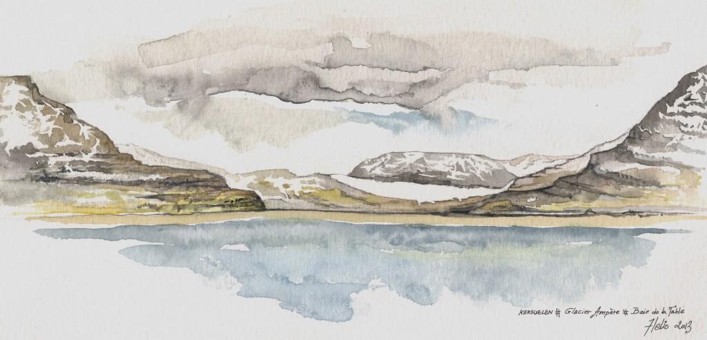 Glacier ampère (Kerguelen) - Mathieu Antonio Hélio RAPP