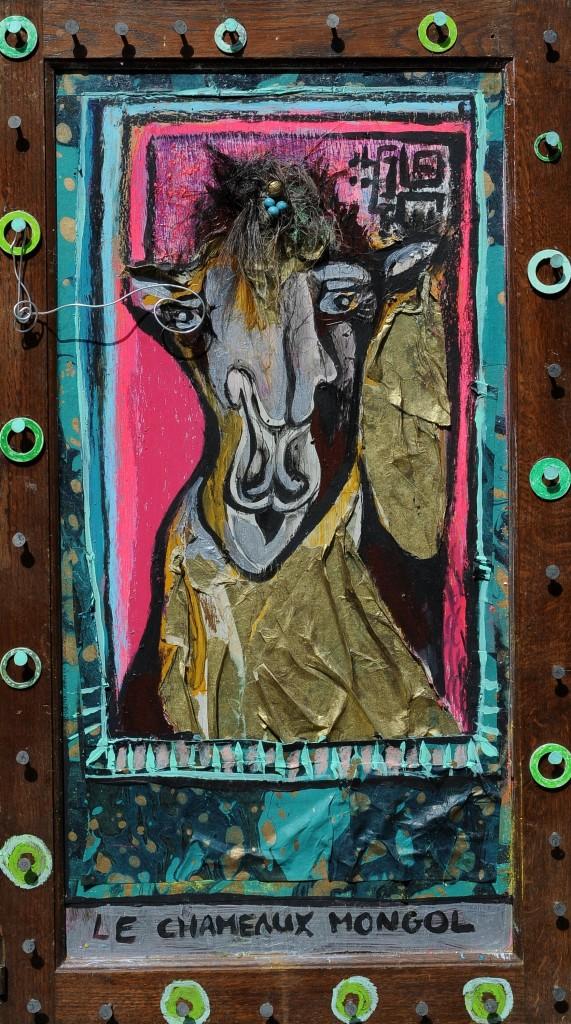 Le chameaux Mongol - Mathieu Antonio Hélio RAPP