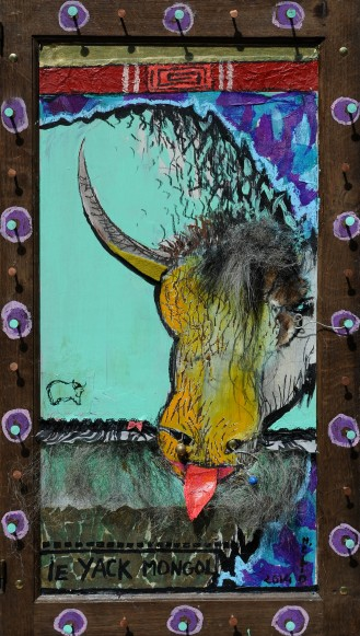 Le yack Mongol - Mathieu Antonio Hélio RAPP