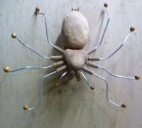 Porte manteau araignée