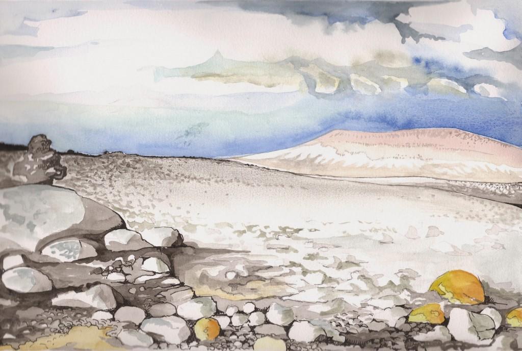 Le plateau Jaennel ou la solitude - Mathieu Antonio Hélio RAPP
